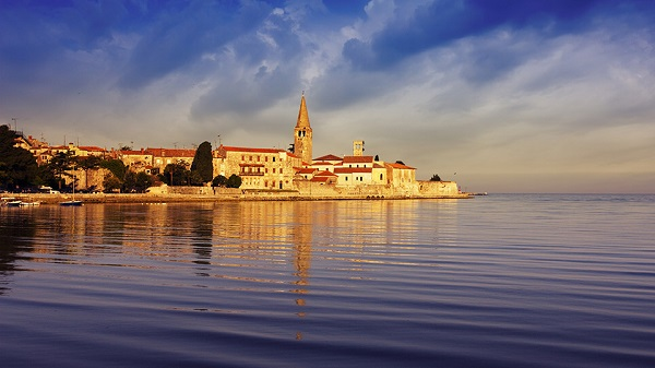 A Beautiful View Of Chapel Annunziata In Cikat Bay.